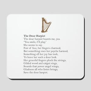 Dour Harpist Mousepad