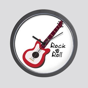 Rock & Roll Wall Clock