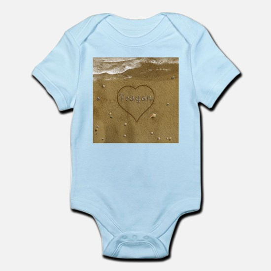 Teagan Beach Love Infant Bodysuit