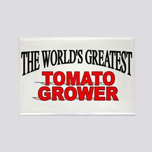 """""""The World's Greatest Tomato Grower"""" Rectangle Mag"""