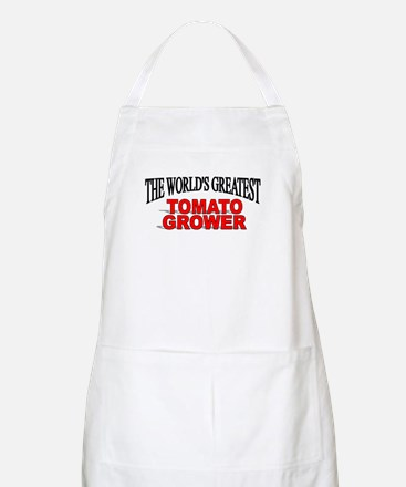 """The World's Greatest Tomato Grower"" BBQ Apron"