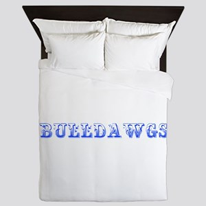 Bulldawgs-Max blue 400 Queen Duvet