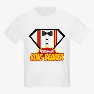 Ring Bearer Superhero Kids Light T-Shirt