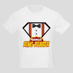 Ring Bearer Superhero Kids Light T-Shirt