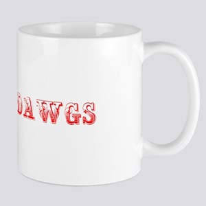 Bulldawgs-Max red 400 Mugs