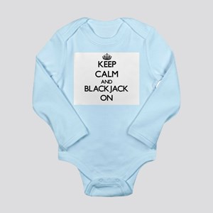 Keep Calm and Blackjack ON Body Suit