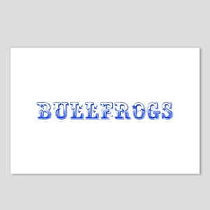 Bullfrogs-Max blue 400 Postcards (Package of 8)