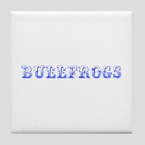 Bullfrogs-Max blue 400 Tile Coaster
