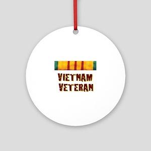 VIETNAM VET Ornament (Round)