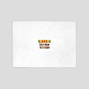 VIETNAM VET 5'x7'Area Rug