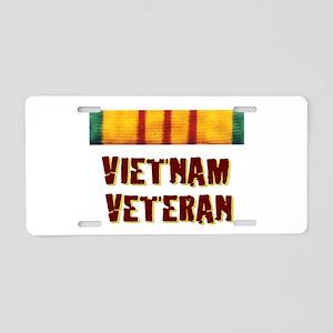 VIETNAM VET Aluminum License Plate