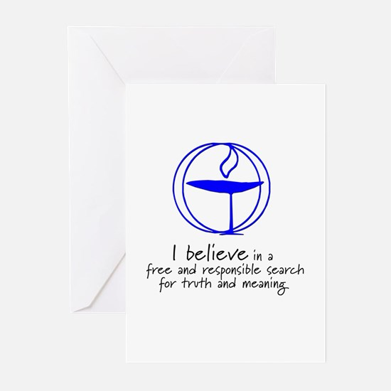 Truth and meaning Greeting Cards (Pk of 10)