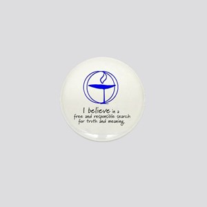 Truth and meaning Mini Button