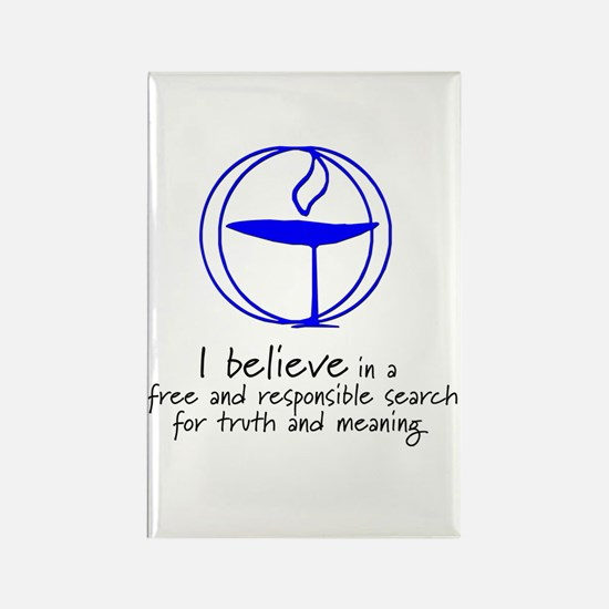 Truth and meaning Rectangle Magnet