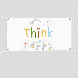 Think Happy Banner