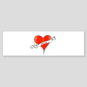 Heart of Sleep Bumper Sticker