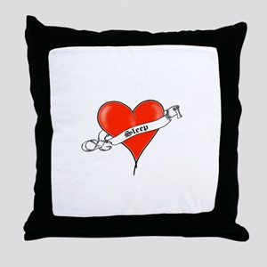 Heart of Sleep Throw Pillow