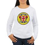 USS JOHN KING Women's Long Sleeve T-Shirt
