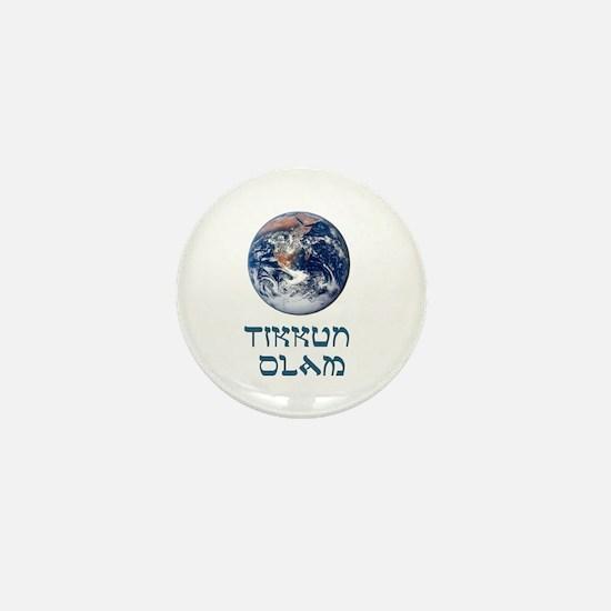 Tikkun Olam Mini Button