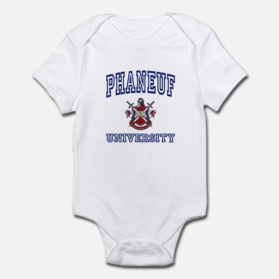 PHANEUF University Infant Bodysuit
