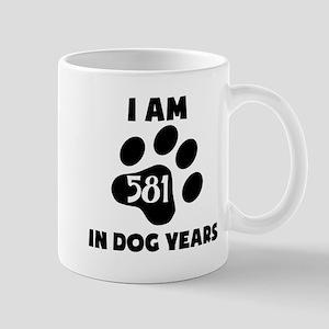 83rd Birthday Dog Years Mugs