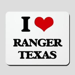 I love Ranger Texas Mousepad