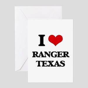 Texas ranger greeting cards cafepress i love ranger texas greeting cards m4hsunfo
