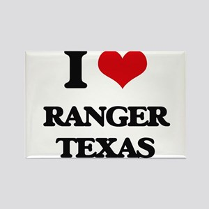 I love Ranger Texas Magnets