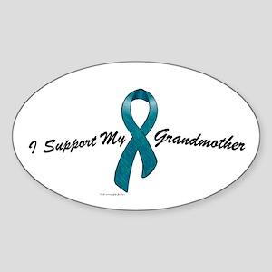 I Support My Grandmother (OC) Oval Sticker