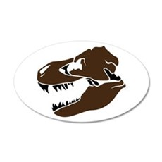T-Rex Skull Wall Decal