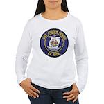 USS JOSEPH HEWES Women's Long Sleeve T-Shirt