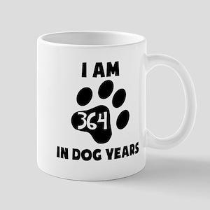 52nd Birthday Dog Years Mugs