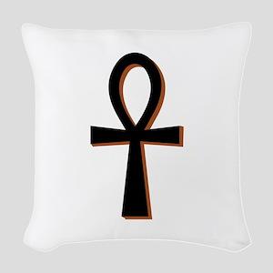 Symbol of Life Woven Throw Pillow