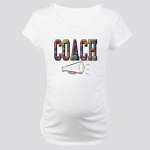 Coach in Color Maternity T-Shirt