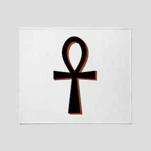 Symbol of Life Throw Blanket