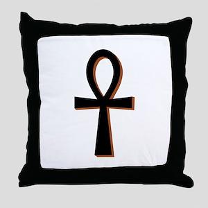 Symbol of Life Throw Pillow