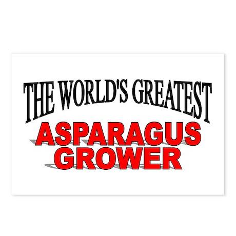 """""""The World's Greatest Asparagus Grower"""" Postcards"""