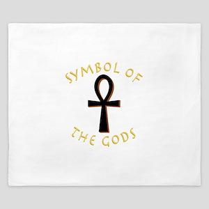 Symbol of Gods King Duvet