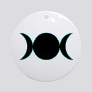 Circle & Cresents Ornament (Round)