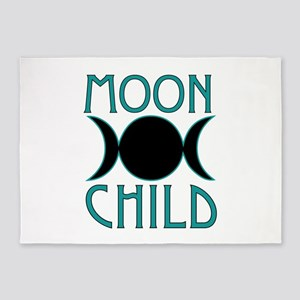 Moon Child 5'x7'Area Rug