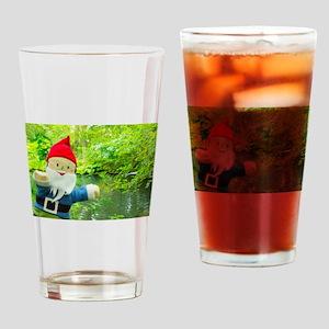 Quiet Creek Gnome Drinking Glass