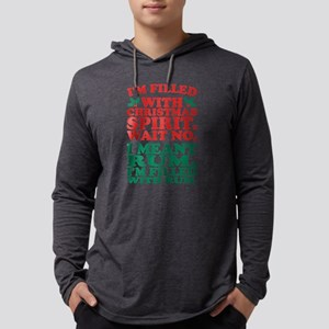 Im Filled With Christmas Spiri Long Sleeve T-Shirt