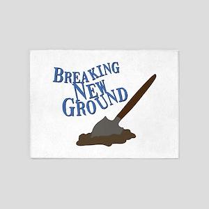 Breaking New Ground 5'x7'Area Rug