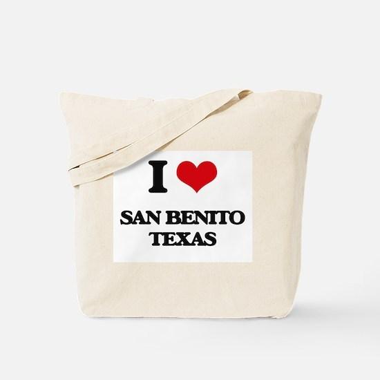 I love San Benito Texas Tote Bag