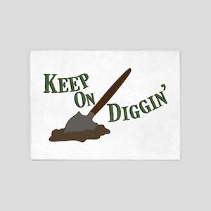 Keep on Diggin 5'x7'Area Rug