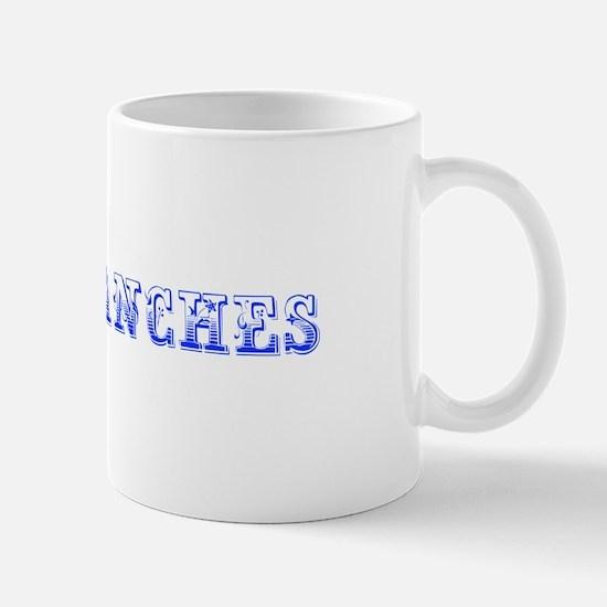 Comanches-Max blue 400 Mugs