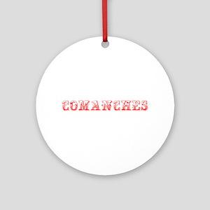 Comanches-Max red 400 Ornament (Round)