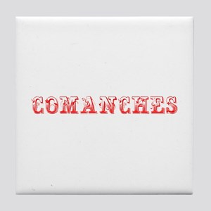 Comanches-Max red 400 Tile Coaster