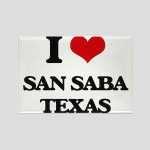 I love San Saba Texas Magnets