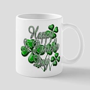 Happy St Patricks Day Shamrocks Mugs